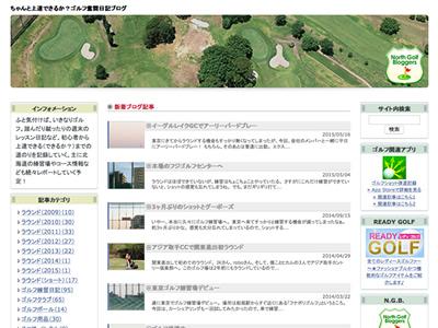 ちゃんと上達できるか?ゴルフ奮闘日記ブログ キャプチャ画像