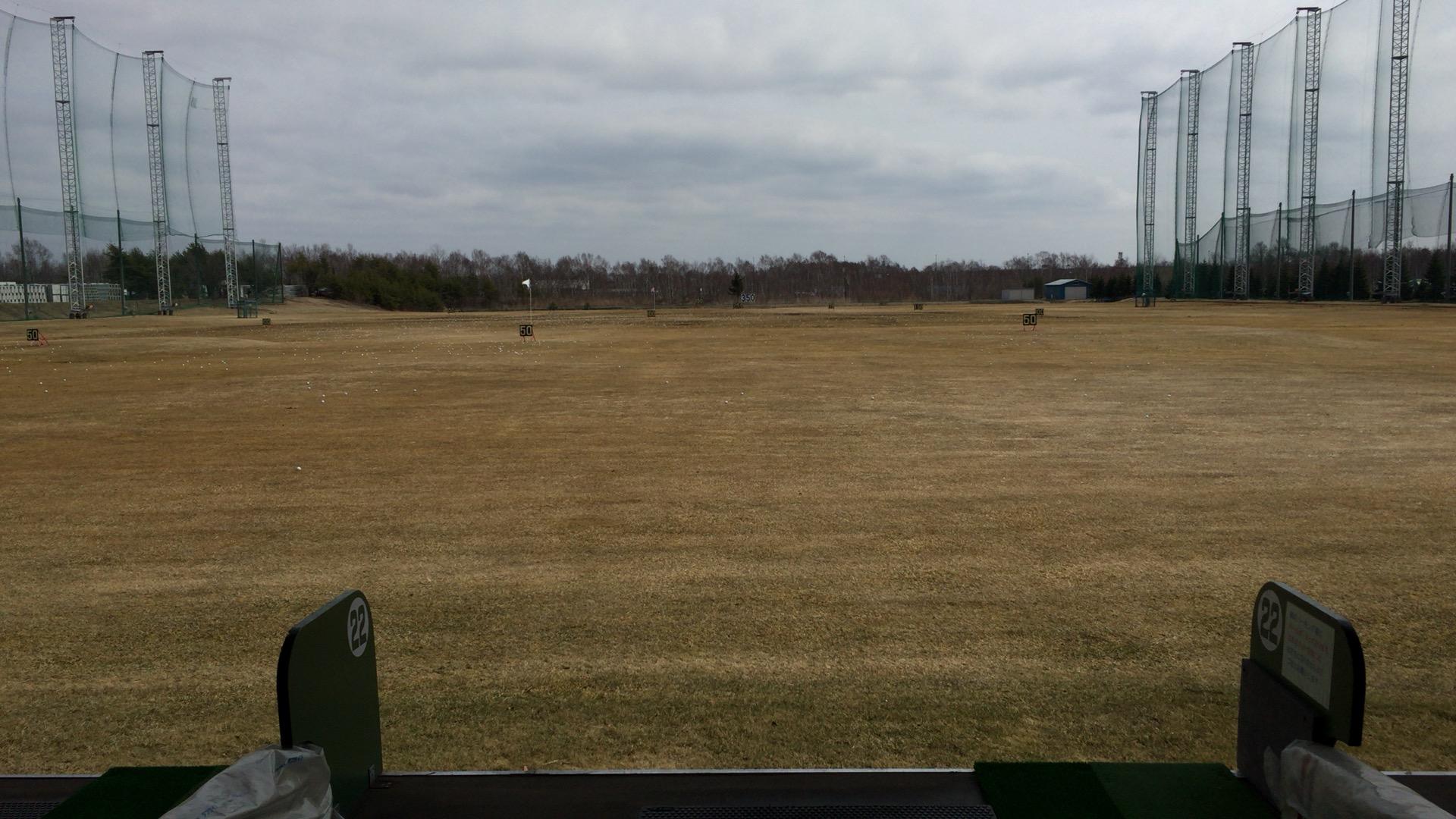 千歳付近でのラウンド前練習に最適、フジゴルフセンター
