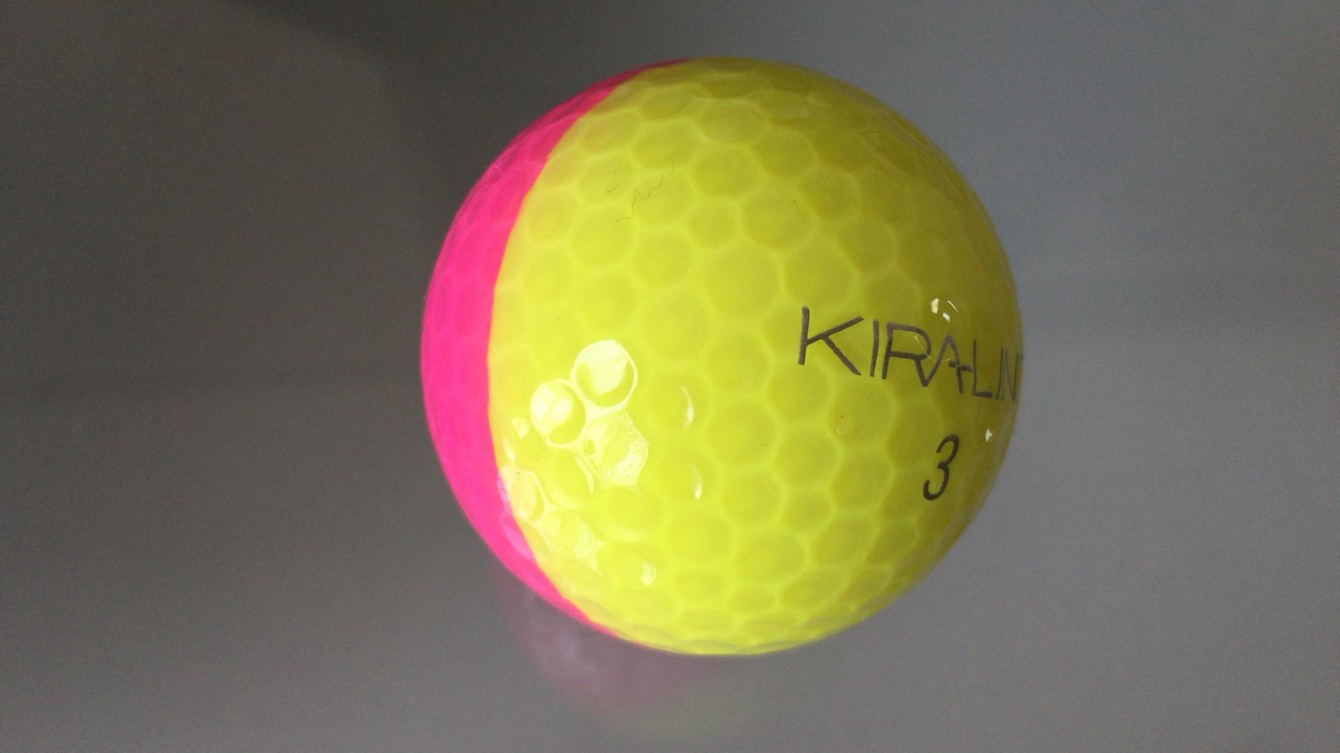 ラインが見える KIRA LINE ボール