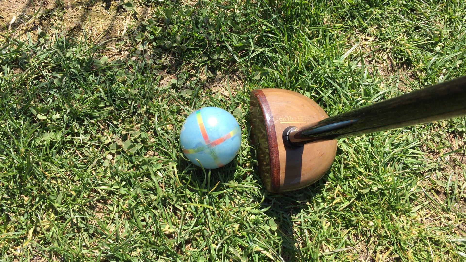 エルムパーク西の里で初パークゴルフ!