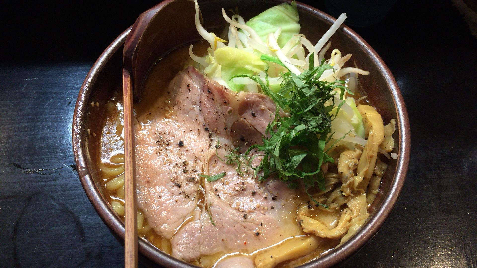 札幌・中央区 麺処 とりぱん