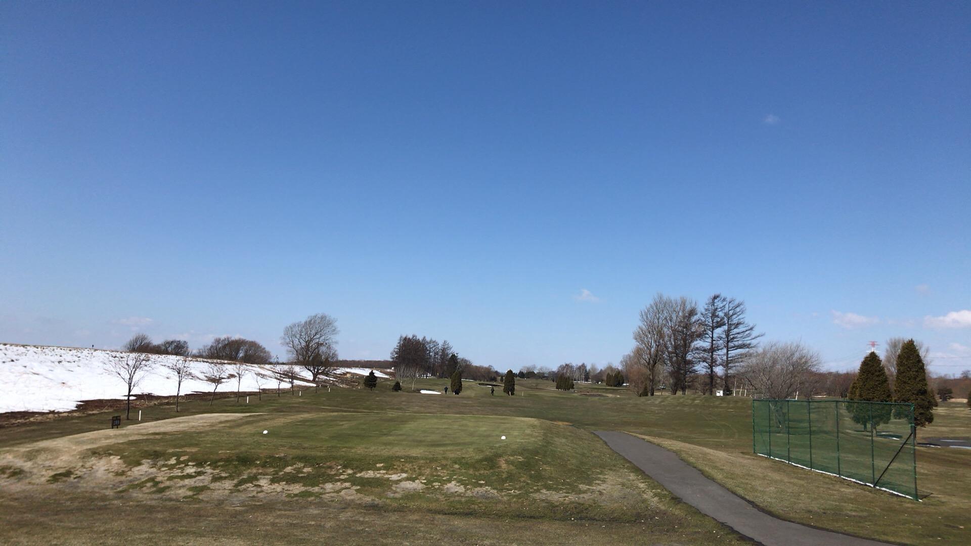 南幌リバーサイドゴルフ場で2017初ラウンド!