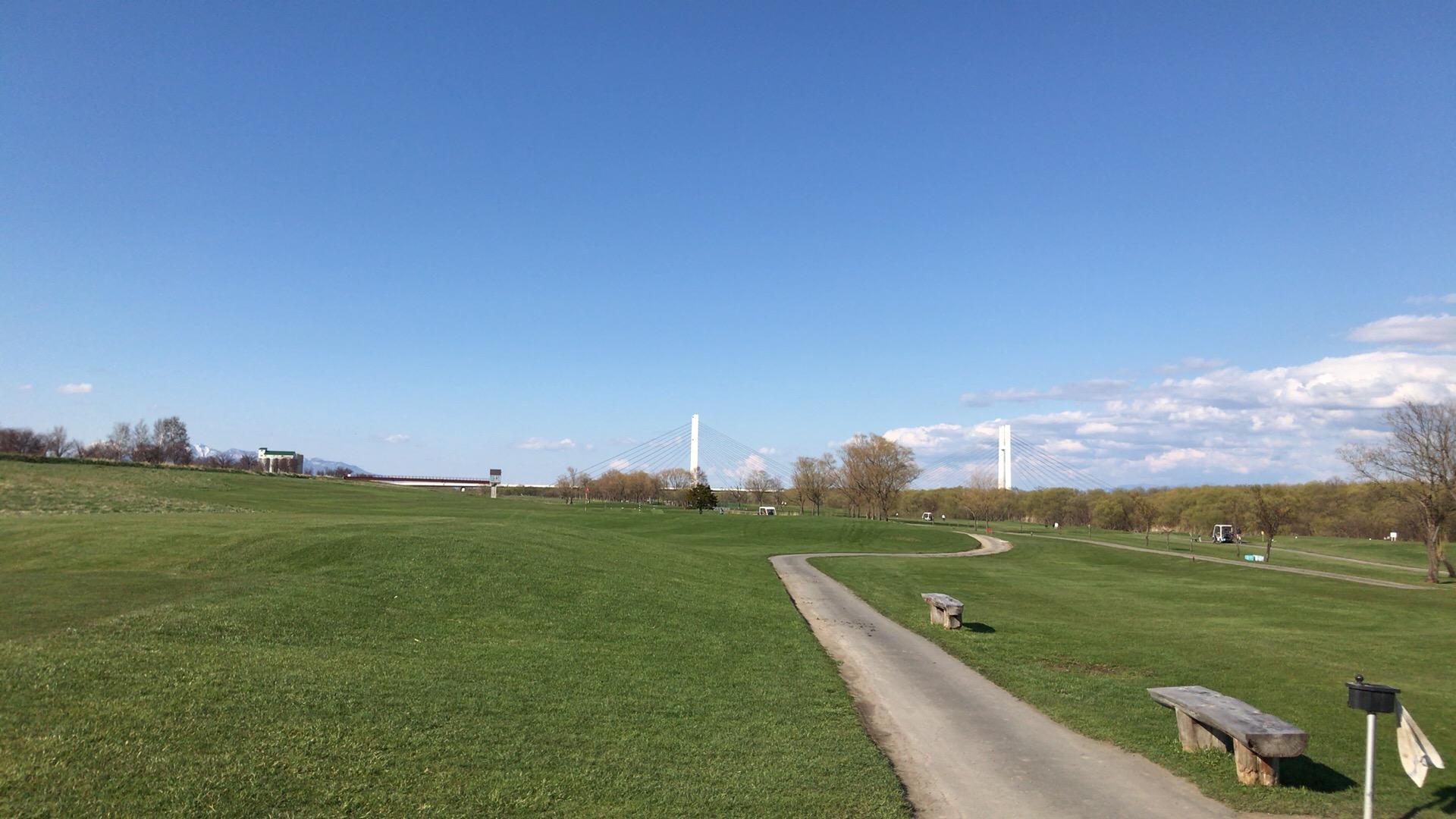 ニューしのつゴルフ場で復調好調ラウンド