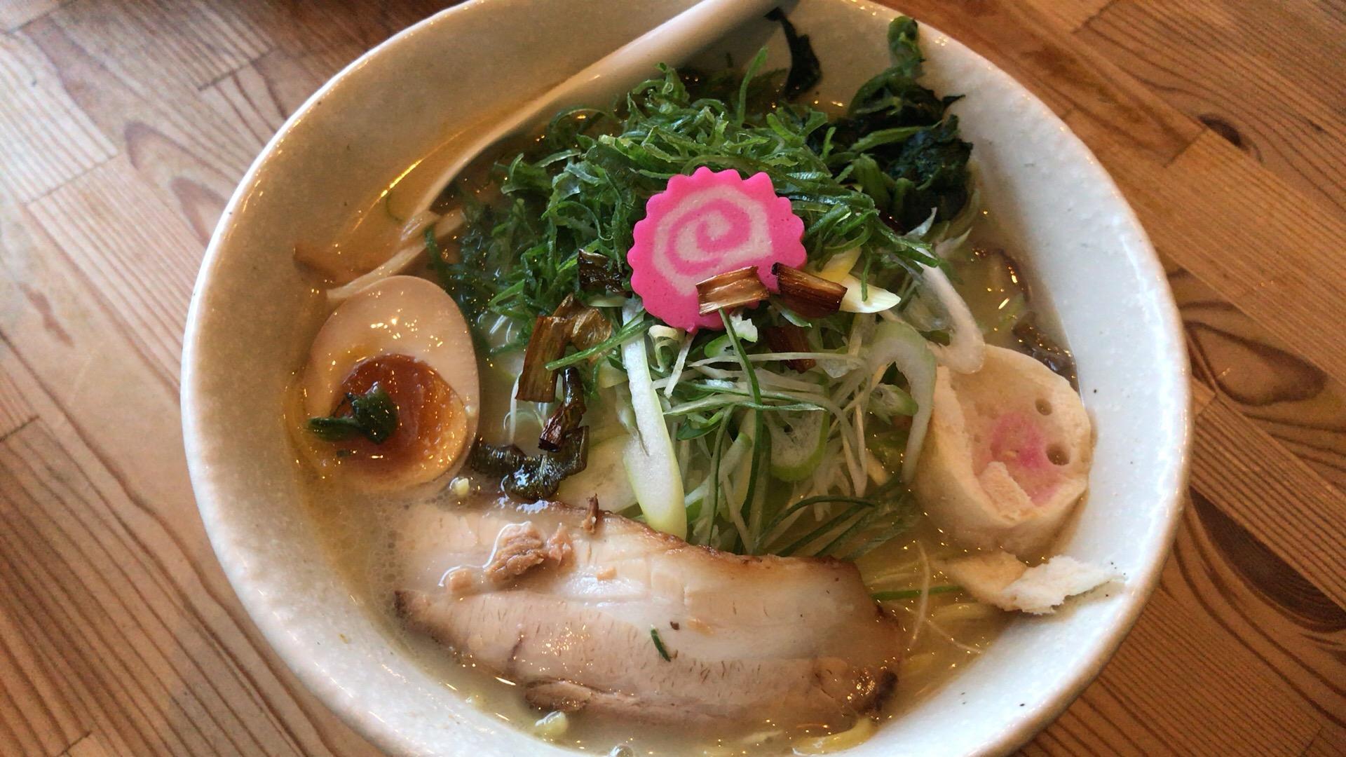 札幌・東区 麺や 白 本店