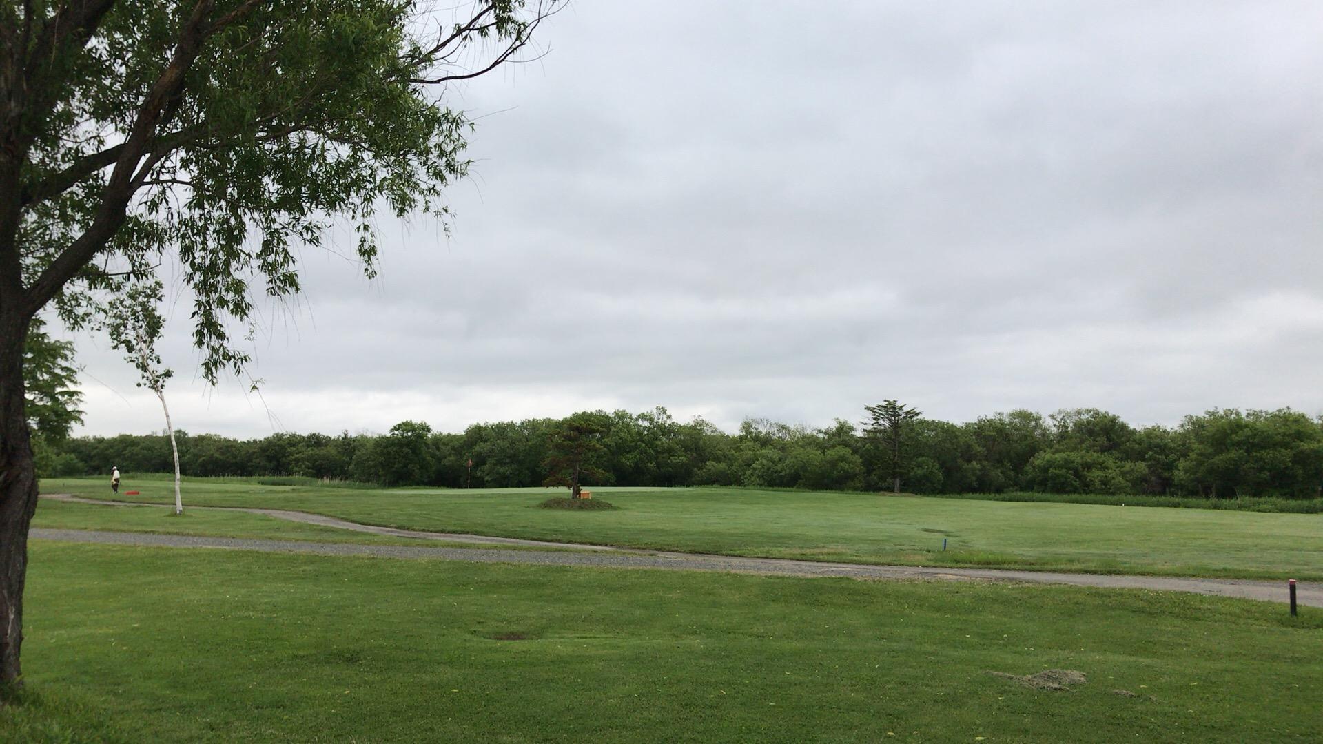 ニューしのつゴルフ場で脱力練習ラウンド