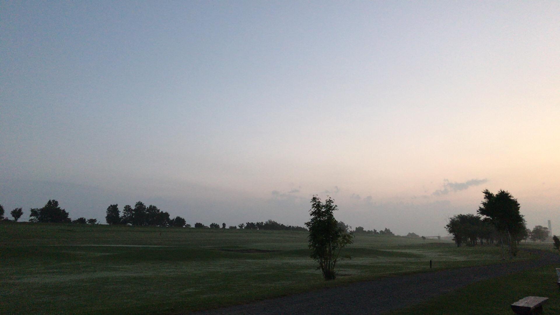 ニューしのつゴルフ場でバーディラッシュ