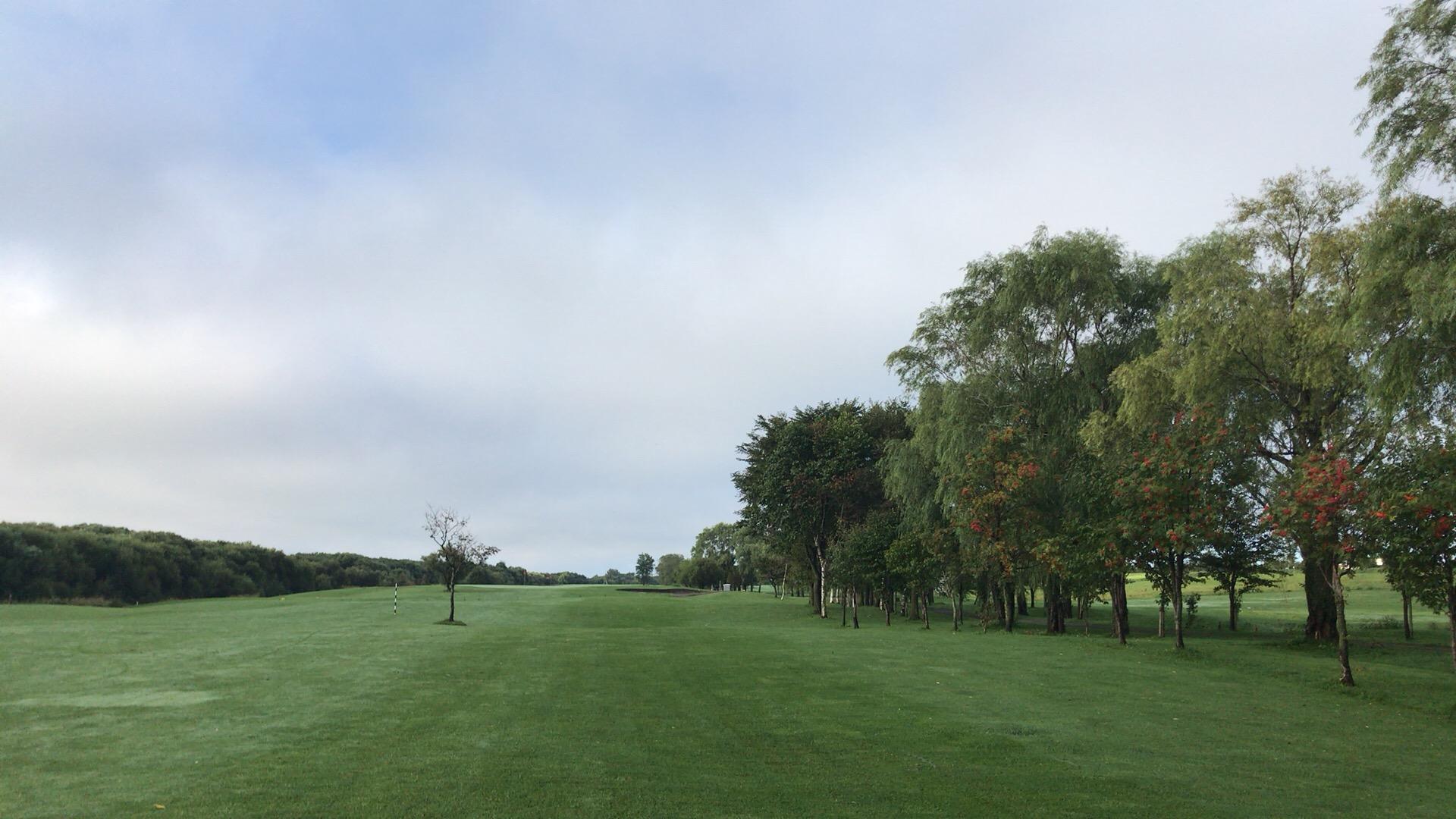 ニューしのつゴルフ場で今季ラスト早朝ラウンド