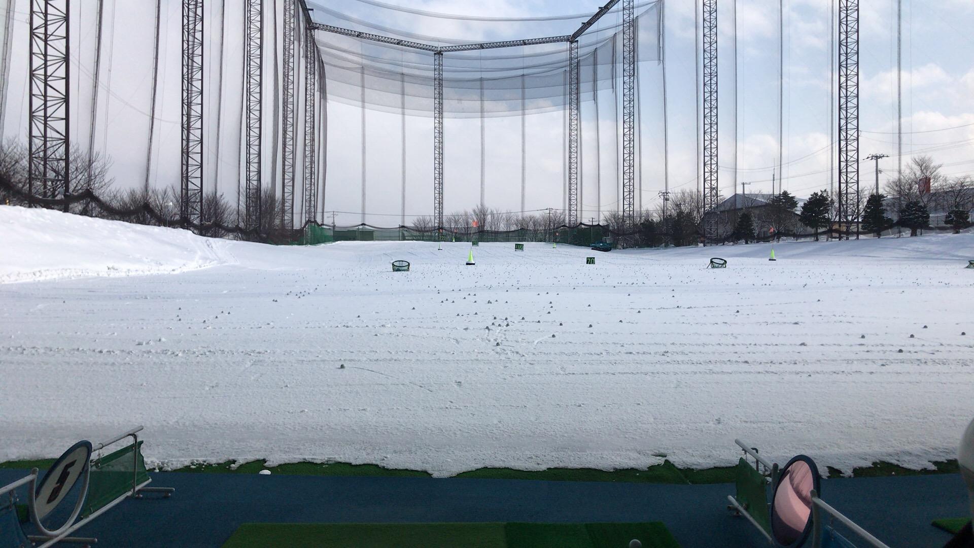 ヒューマンゴルフガーデンで練習会