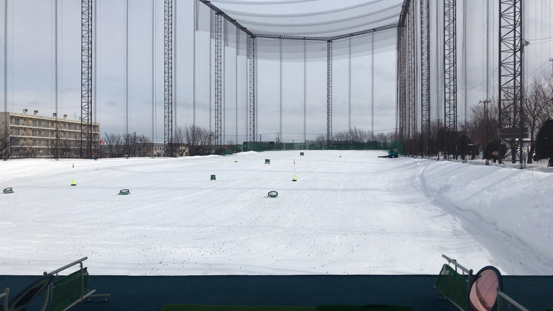 ヒューマンゴルフガーデンで練習会、というか試打会