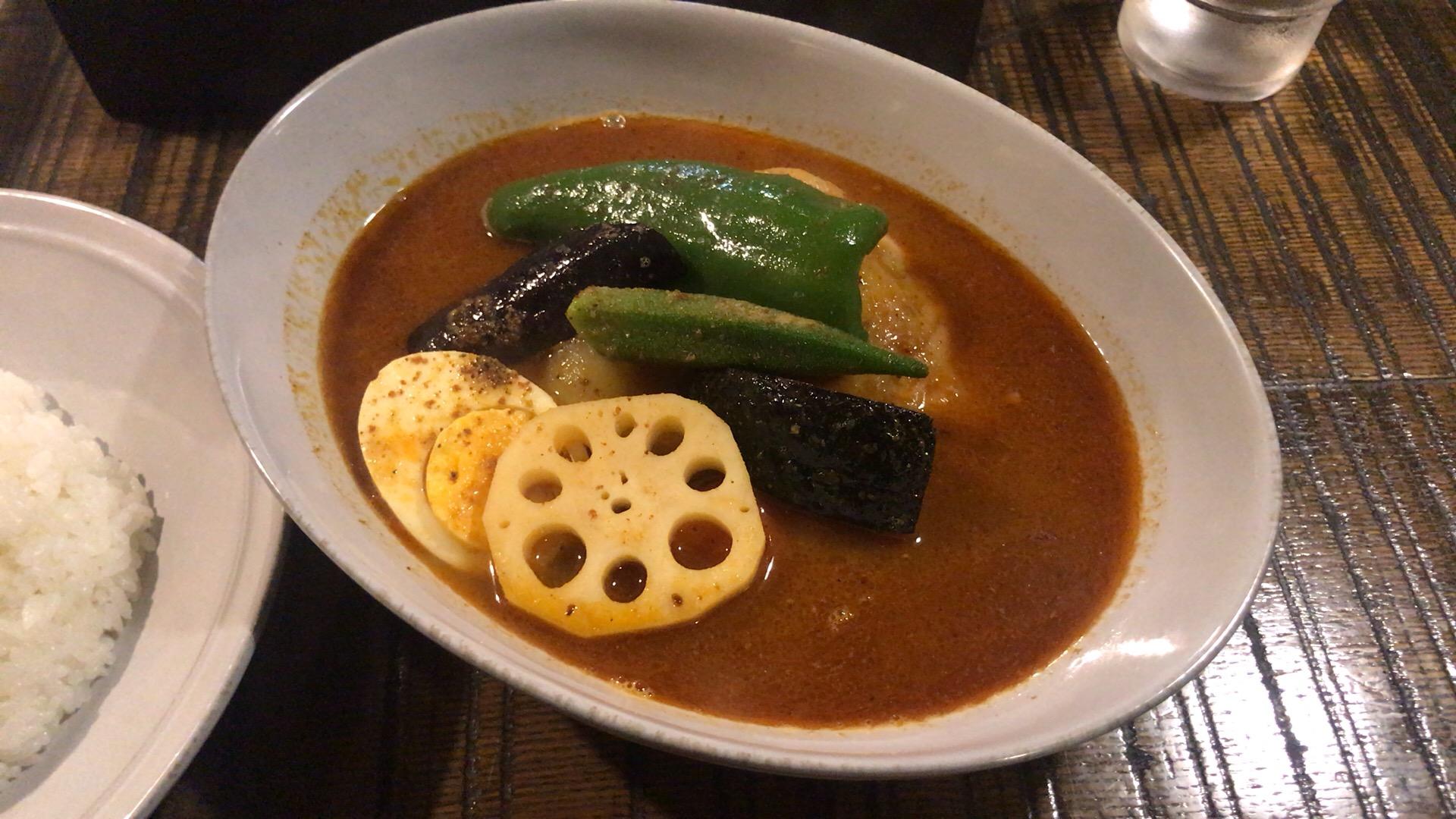札幌・中央区 暁 咖喱