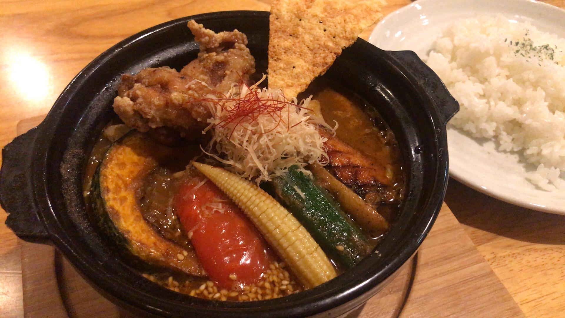 札幌・中央区 北海道スープカレー専門店 雪道