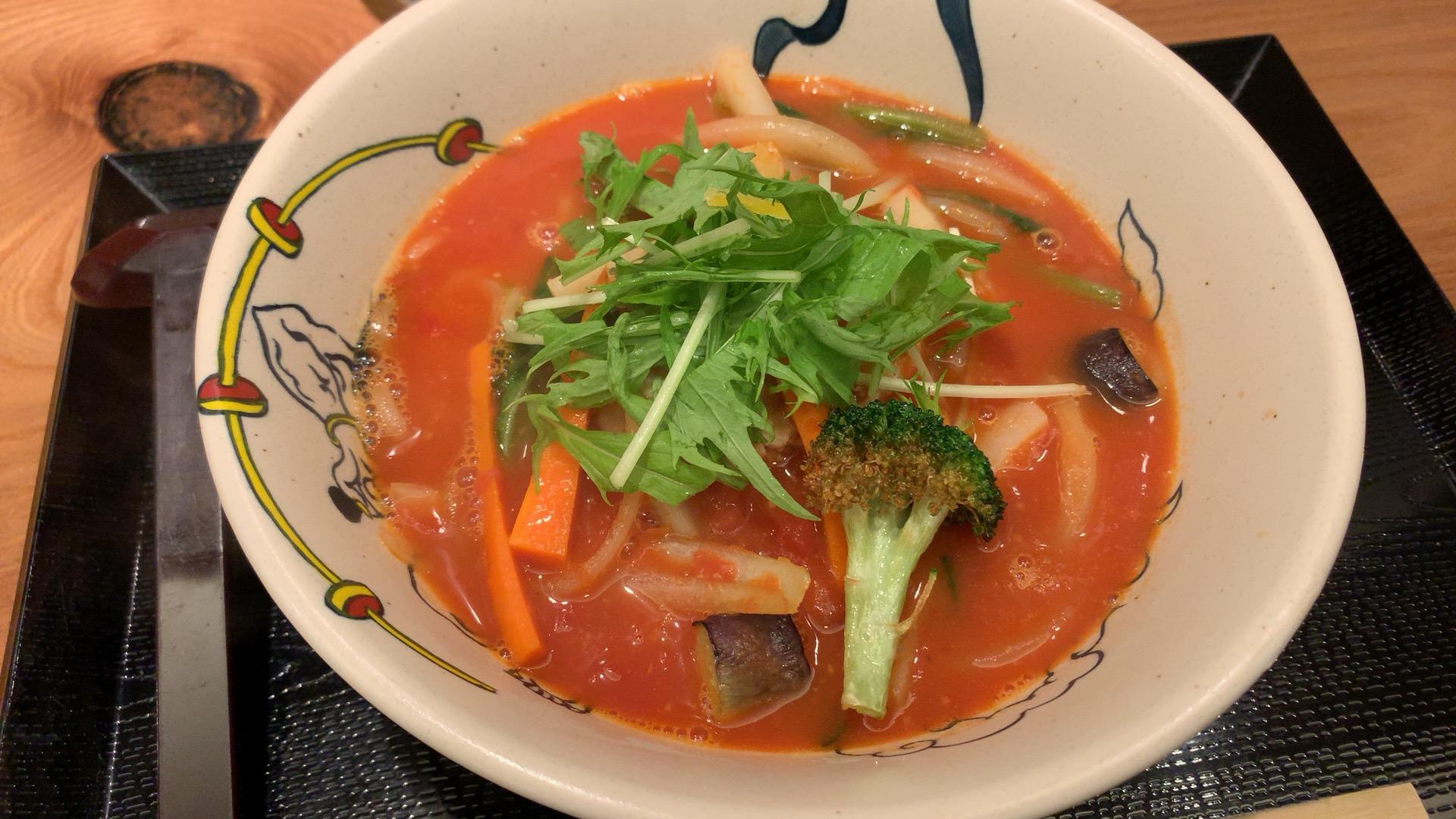 札幌・中央区 トマト麺 Vagie WEST