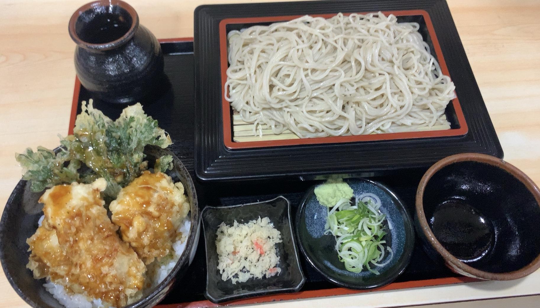 札幌・中央区 更科そば 磯切 中央店