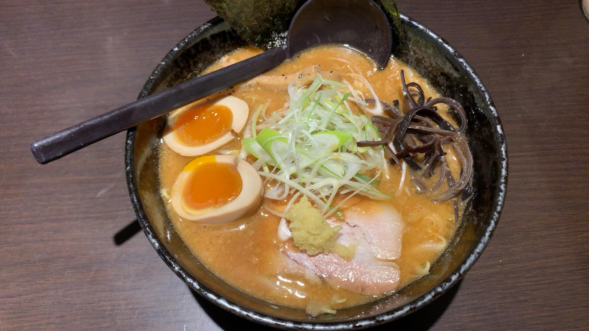 札幌・中央区 らー麺 とぐち すすきの店