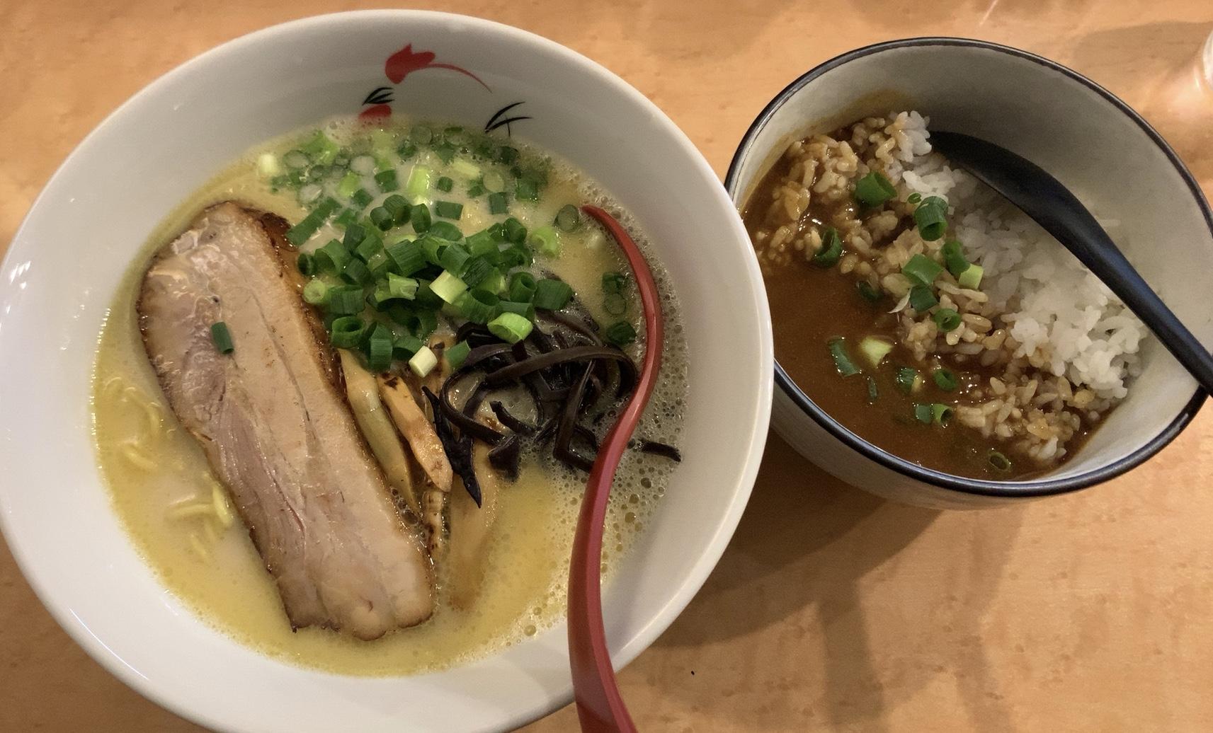 札幌・西区 麺屋 丸鶏庵