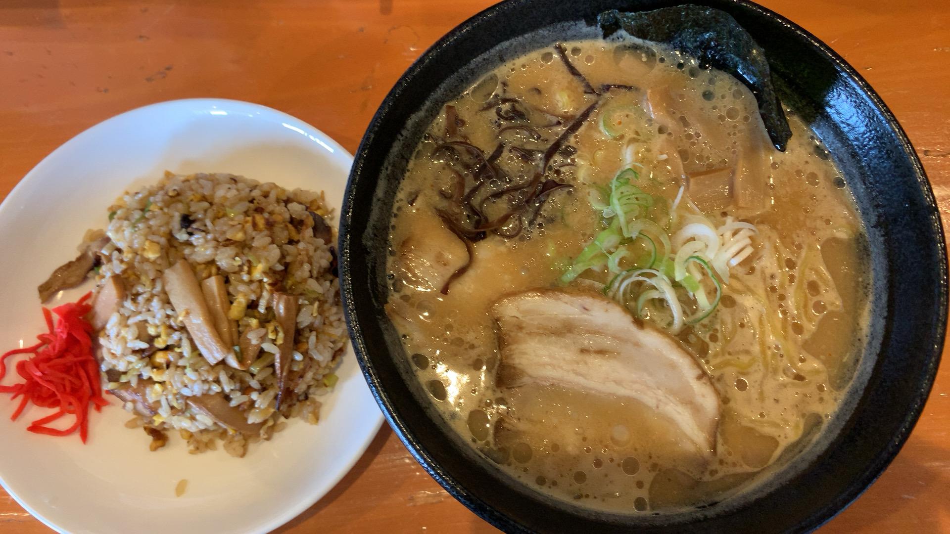 札幌・東区 麺処 そめいよしの 東苗穂店