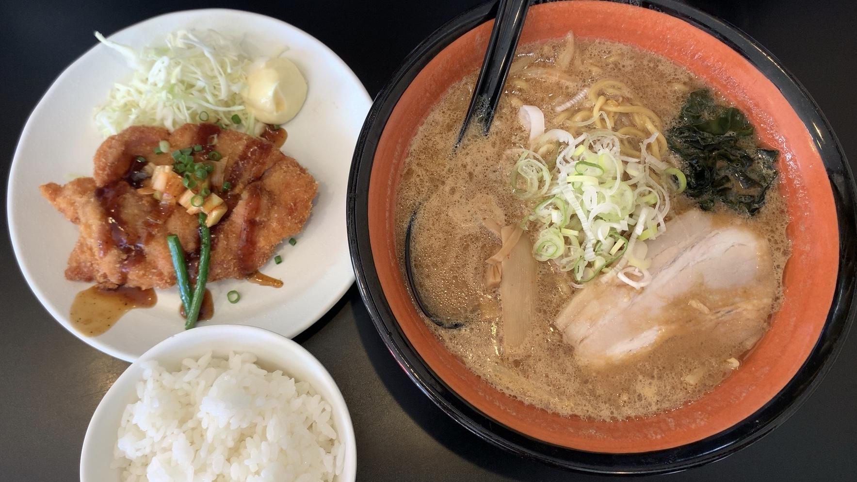 江別市 麺や 虎鉄 大麻店