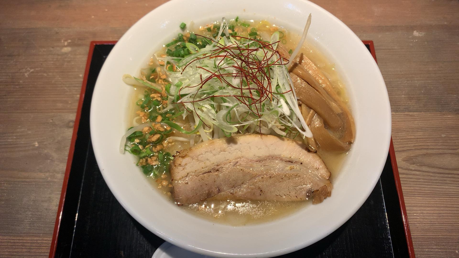 札幌・中央区 麺匠 乃が実