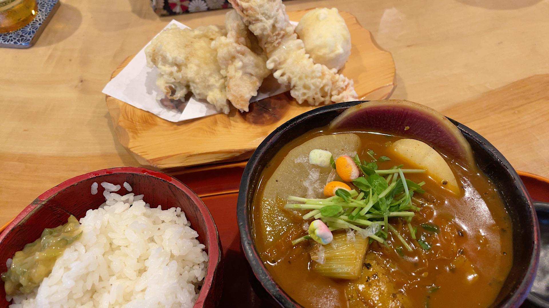 札幌・中央区 スープカリー奥芝商店 おくしばぁちゃん