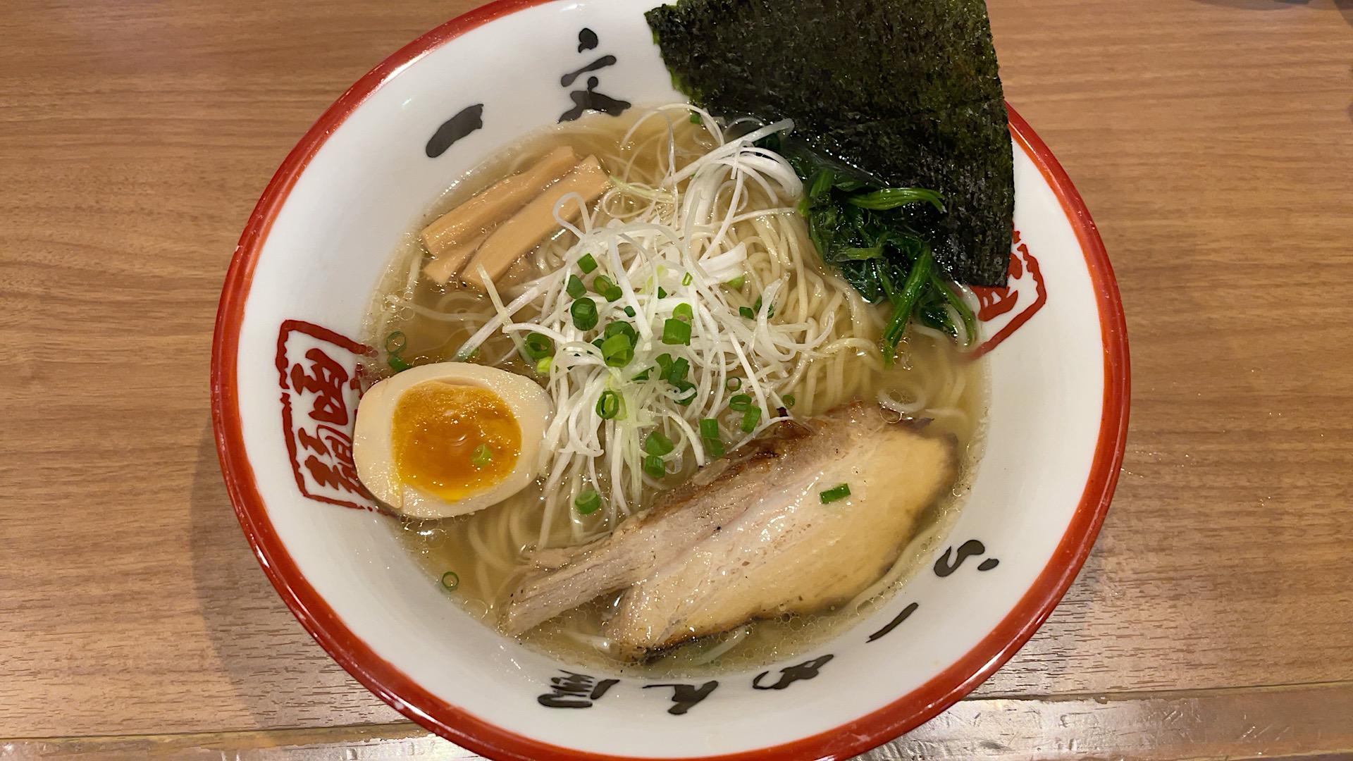 函館 函館麺や 一文字
